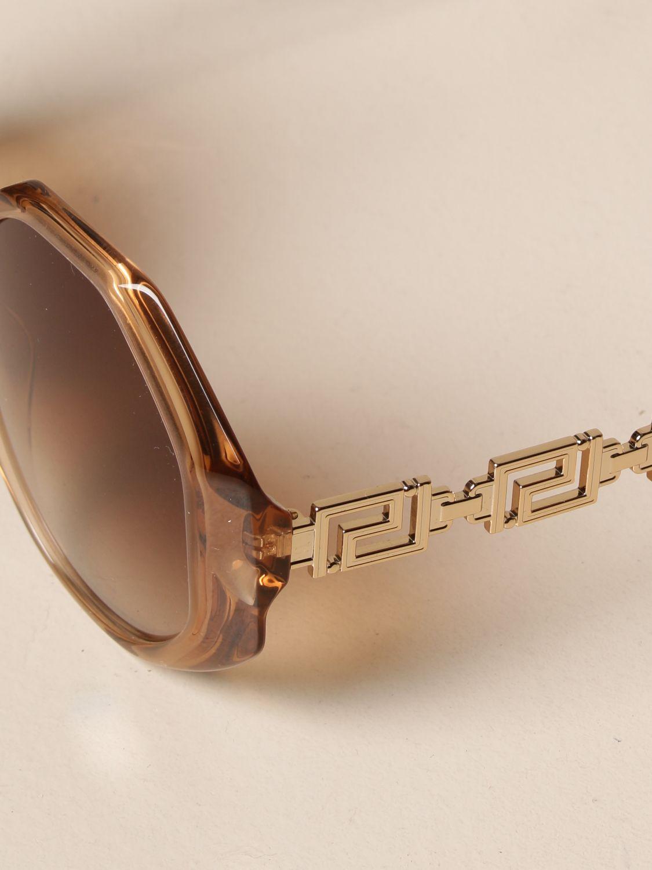 Солнцезащитные очки Versace: Солнцезащитные очки Женское Versace оранжевый 4