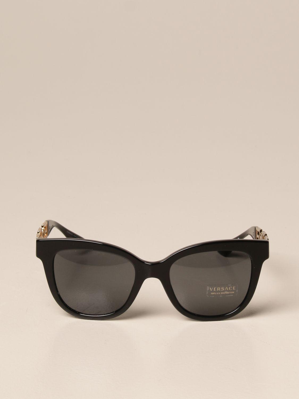 Солнцезащитные очки Versace: Солнцезащитные очки Женское Versace черный 2