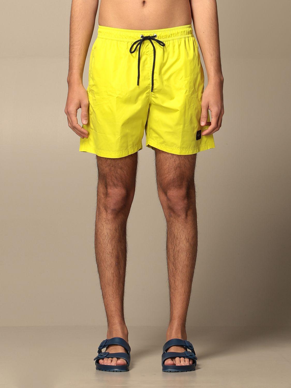 Costume Paul & Shark: Costume a boxer Paul & Shark con logo giallo 1