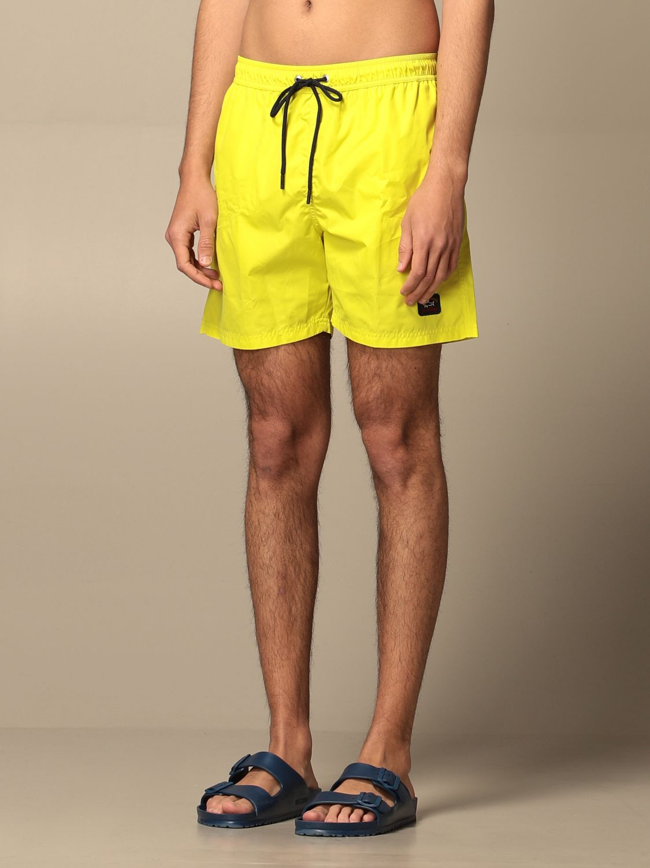 Costume Paul & Shark: Costume a boxer Paul & Shark con logo giallo 3