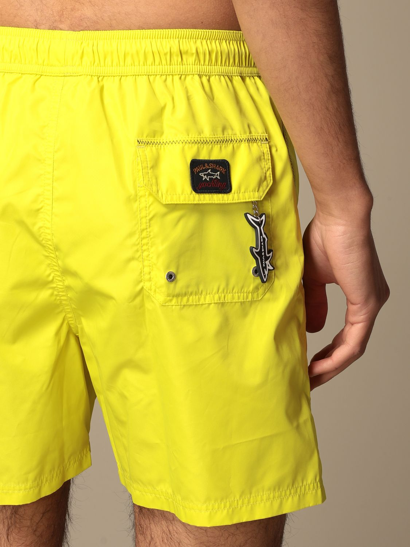 Costume Paul & Shark: Costume a boxer Paul & Shark con logo giallo 4