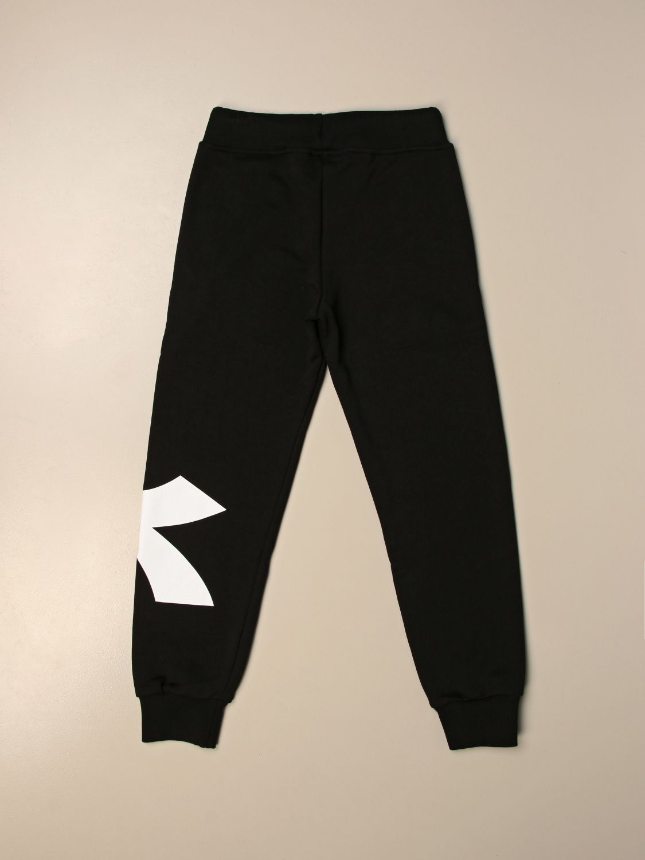 Pantalón Diadora: Pantalón niños Diadora negro 2