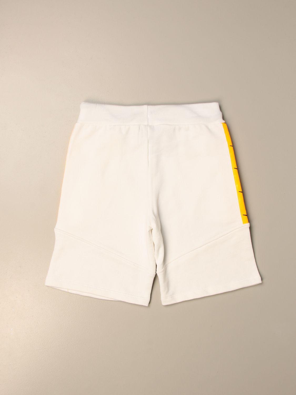Pantalón corto Diadora: Pantalón corto niños Diadora blanco 2