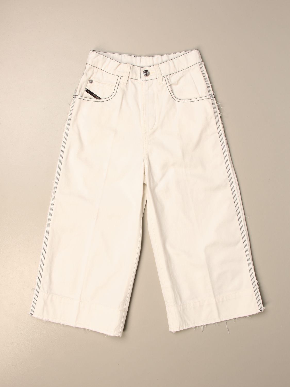 Pantalón Diesel: Pantalón niños Diesel nata 1