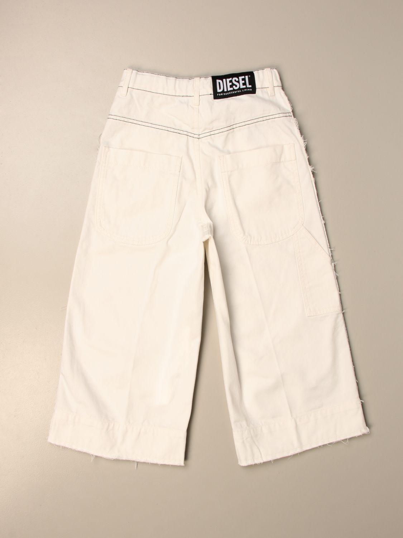 Pantalón Diesel: Pantalón niños Diesel nata 2