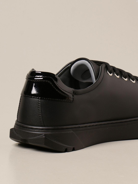 Sneakers Salvatore Ferragamo: Sneakers Cube Salvatore Ferragamo in pelle nero 3