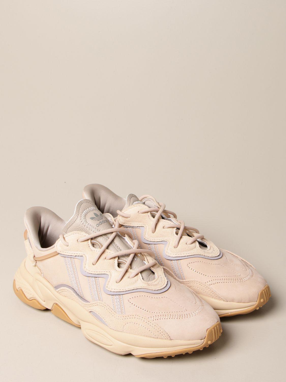 Sneakers Adidas Originals: Ozweego Adidas Originals sneakers in suede nude 2