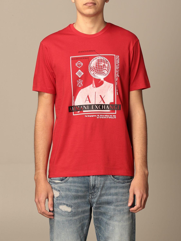 T-shirt Armani Exchange: T-shirt men Armani Exchange red 1