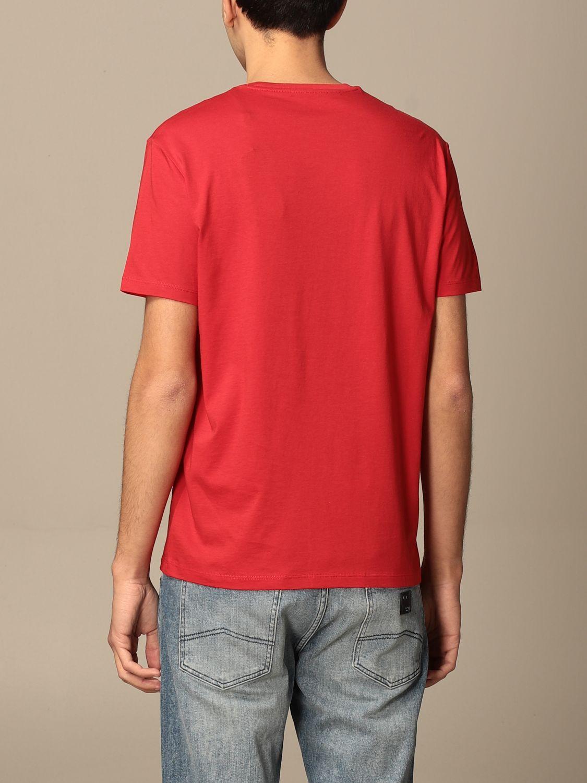 T-shirt Armani Exchange: T-shirt men Armani Exchange red 2