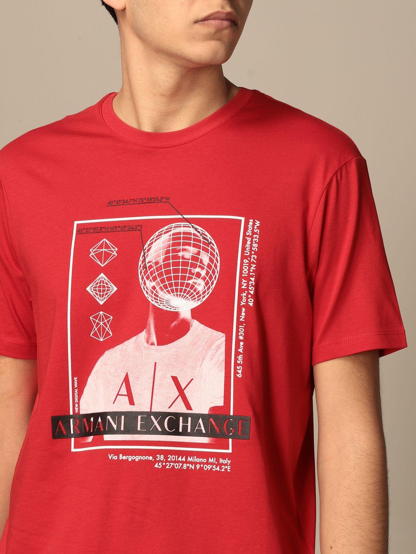 T-shirt Armani Exchange: T-shirt men Armani Exchange red 3