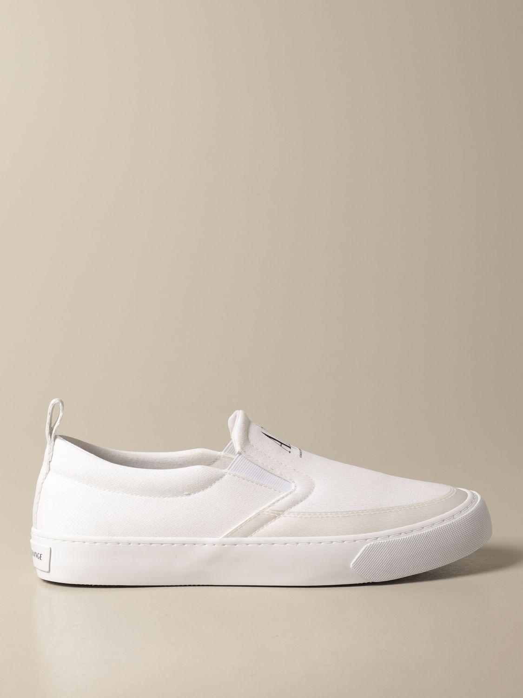 Baskets Armani Exchange: Chaussures homme Armani Exchange blanc 1