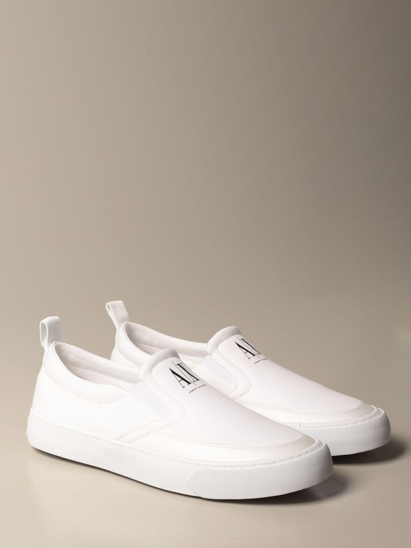 Baskets Armani Exchange: Chaussures homme Armani Exchange blanc 2
