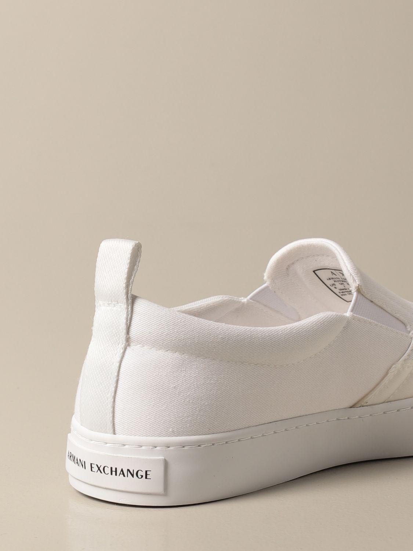 Baskets Armani Exchange: Chaussures homme Armani Exchange blanc 3