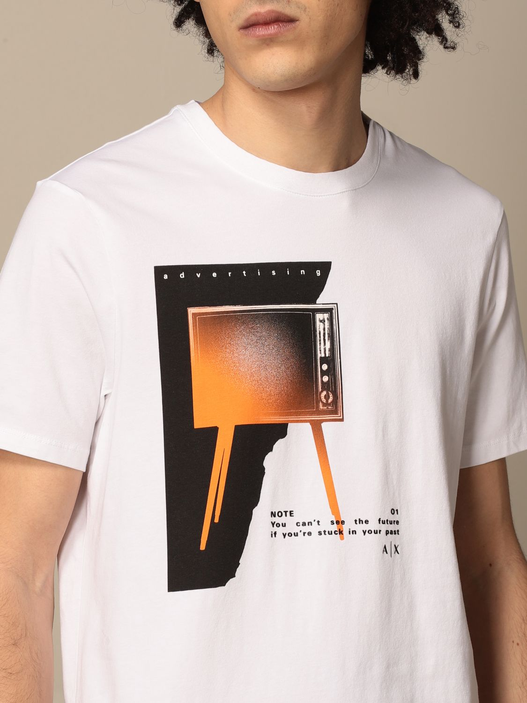 T-shirt Armani Exchange: T-shirt Armani Exchange con stampa bianco 3