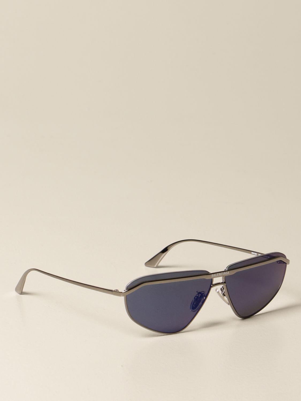 Glasses Balenciaga: Balenciaga metal sunglasses with logo black 1