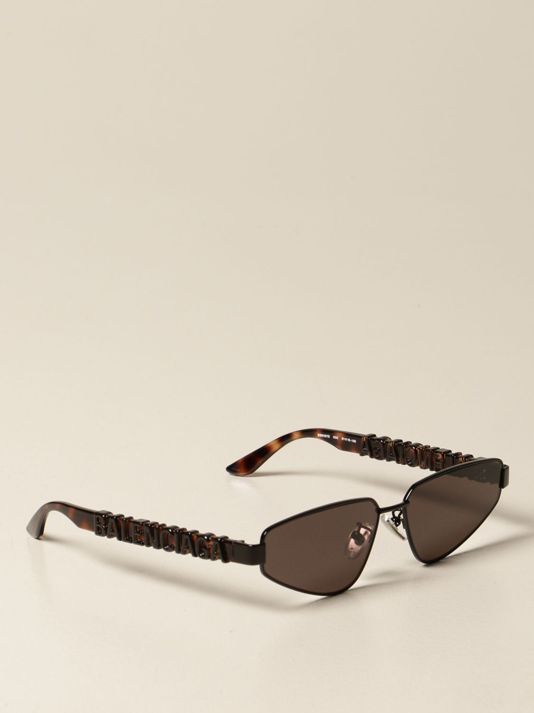 Солнцезащитные очки Balenciaga: Солнцезащитные очки Женское Balenciaga черный 1