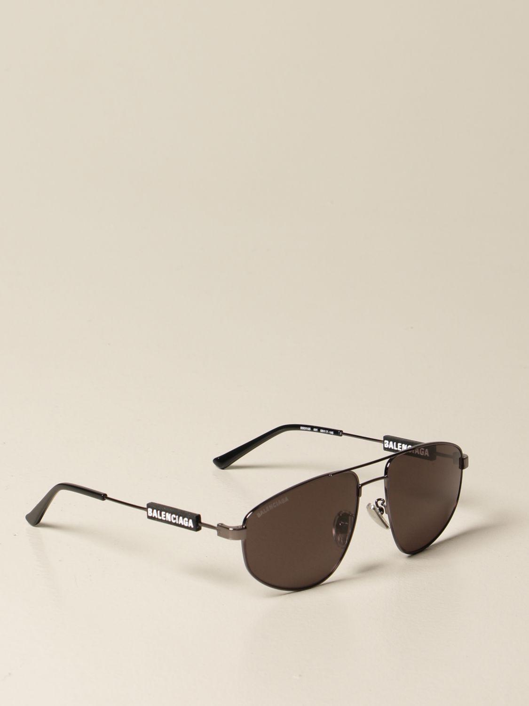 Glasses Balenciaga: Balenciaga sunglasses with logo black 1