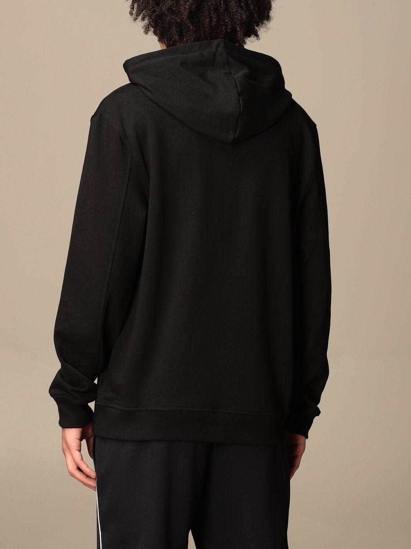 Sweatshirt Armani Exchange: Armani Exchange hoodie with print black 2