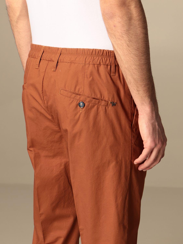Trousers Daniele Alessandrini: Trousers men Daniele Alessandrini tobacco 4
