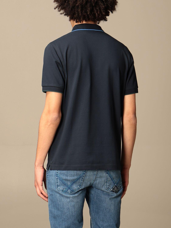 Polo shirt Sun 68: Sun 68 cotton polo shirt with logo navy 2