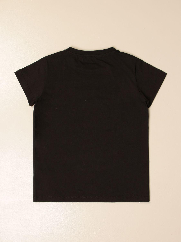 Camisetas Balmain: Camisetas niños Balmain negro 2