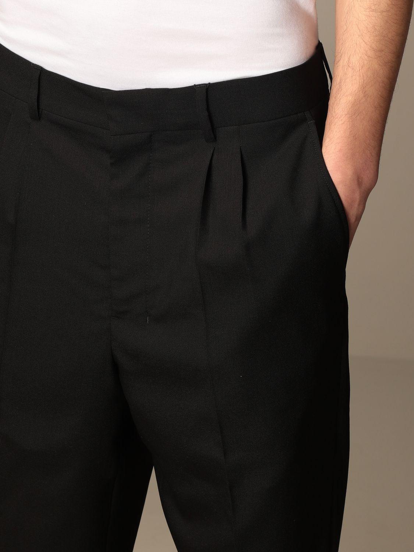 Pantalon Ami Alexandre Mattiussi: Pantalon homme Ami Alexandre Mattiussi noir 4