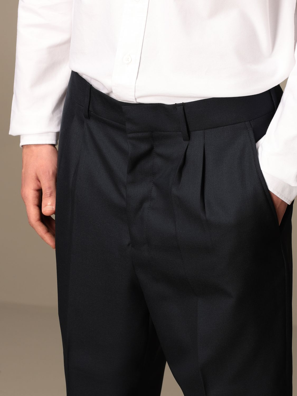 Trousers Ami Alexandre Mattiussi: Trousers men Ami Alexandre Mattiussi navy 3