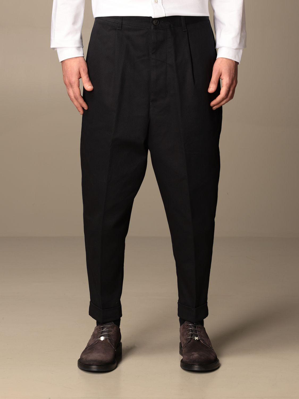 Pantalon Ami Alexandre Mattiussi: Pantalon homme Ami Alexandre Mattiussi bleu marine 1