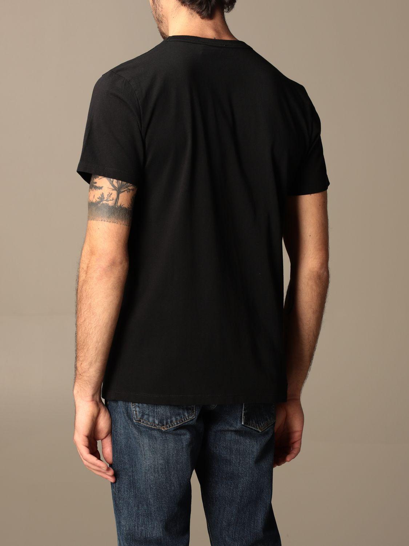 T-shirt Maison Kitsuné: T-shirt Maison Kitsuné in cotone con logo nero 2
