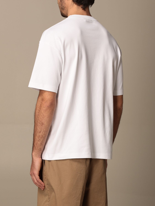 T-shirt Drole De Monsieur: T-shirt Drole De Monsieur in cotone con logo bianco 3