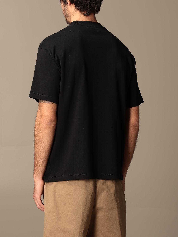 T-shirt Drole De Monsieur: T-shirt Drole De Monsieur in cotone con logo nero 3