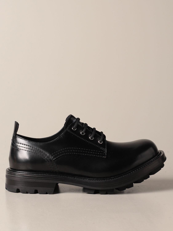 Chaussures derby Alexander Mcqueen: Chaussures derby homme Alexander Mcqueen noir 1