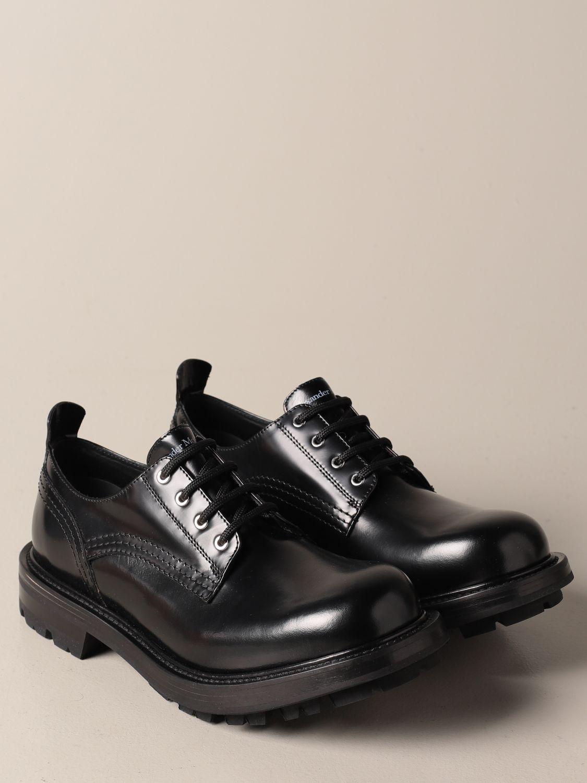 Chaussures derby Alexander Mcqueen: Chaussures derby homme Alexander Mcqueen noir 2