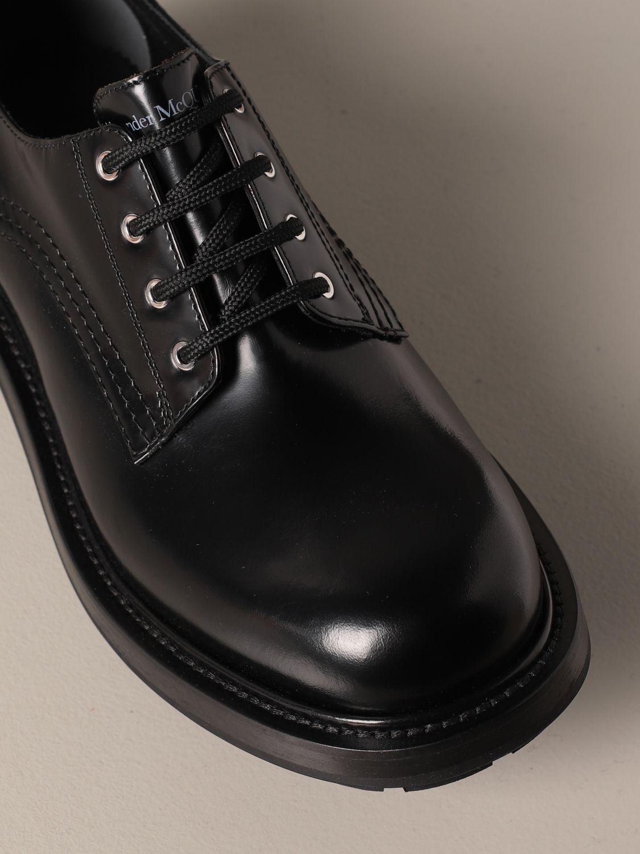 Chaussures derby Alexander Mcqueen: Chaussures derby homme Alexander Mcqueen noir 4