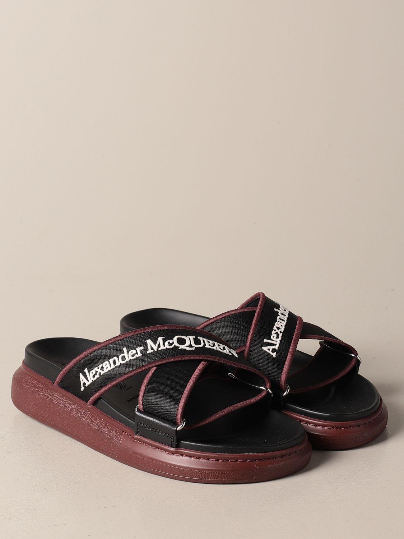 Sandals Alexander Mcqueen: Shoes men Alexander Mcqueen black 2