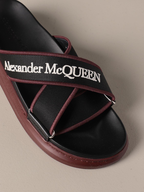 Sandals Alexander Mcqueen: Shoes men Alexander Mcqueen black 4