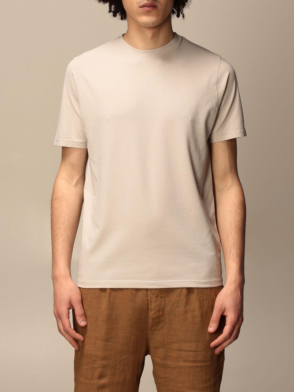 T-shirt Alpha Studio: T-shirt Alpha Studio in cotone ghiaccio 1