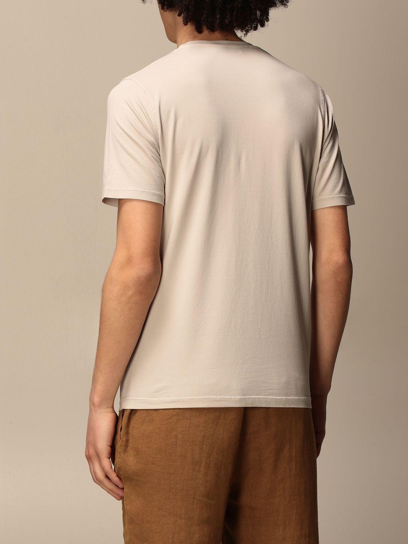 T-shirt Alpha Studio: T-shirt Alpha Studio in cotone ghiaccio 2