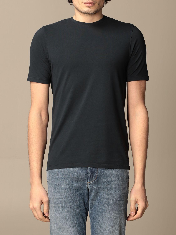T-shirt Alpha Studio: T-shirt homme Alpha Studio bleu marine 1