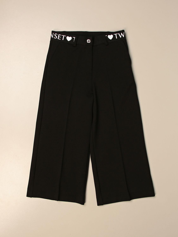 Pantalón Twin Set: Pantalón niños Twin Set negro 1