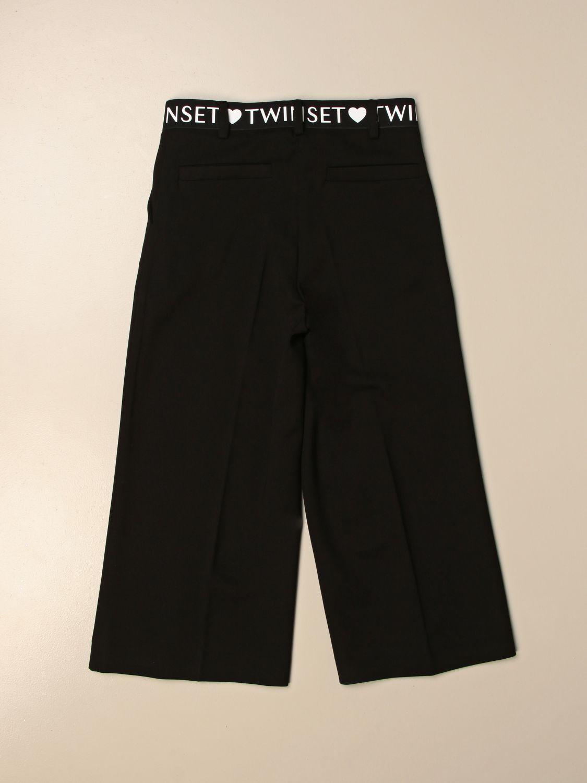 Pantalón Twin Set: Pantalón niños Twin Set negro 2