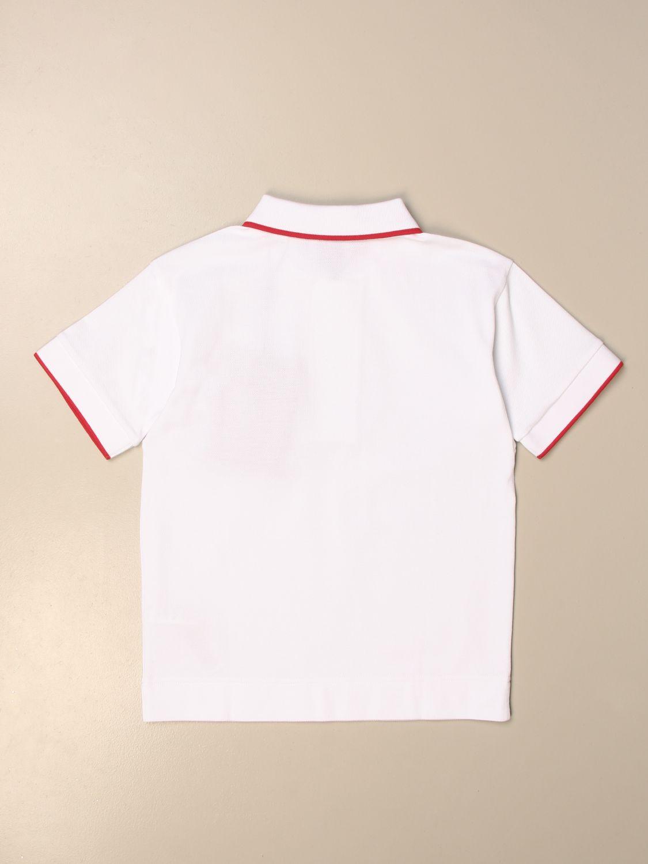 Polo Burberry: Camiseta niños Burberry blanco 2