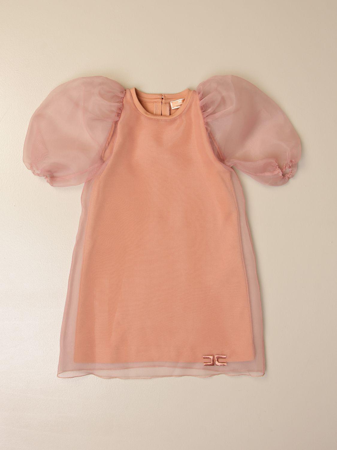 Vestido Elisabetta Franchi: Vestido niños Elisabetta Franchi rosa 1