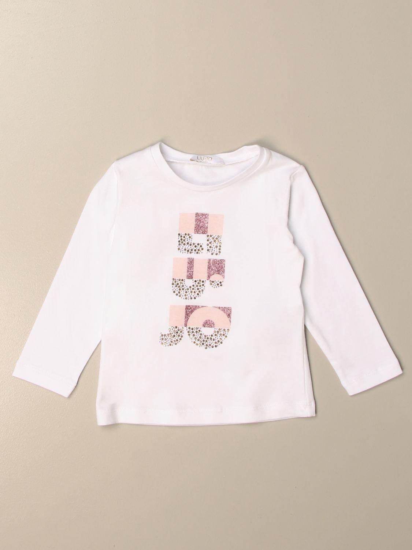 T-shirt Liu Jo: T-shirt kids Liu Jo white 1