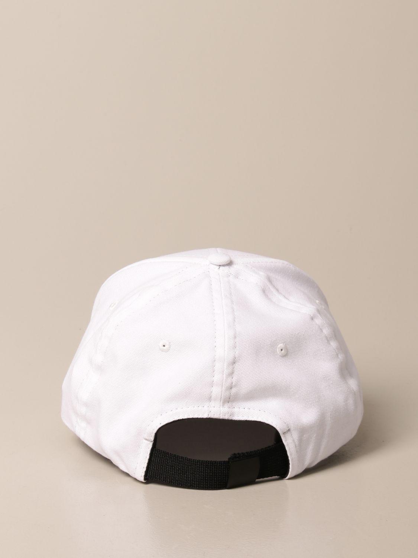 Hat Stone Island Junior: Stone Island Junior hat with logo white 3