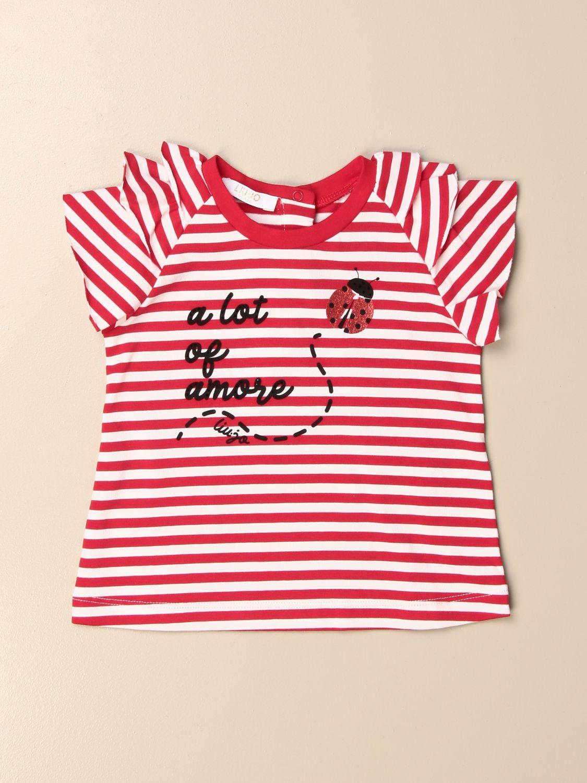 Футболка Liu Jo: Футболка Детское Liu Jo полосатый 1