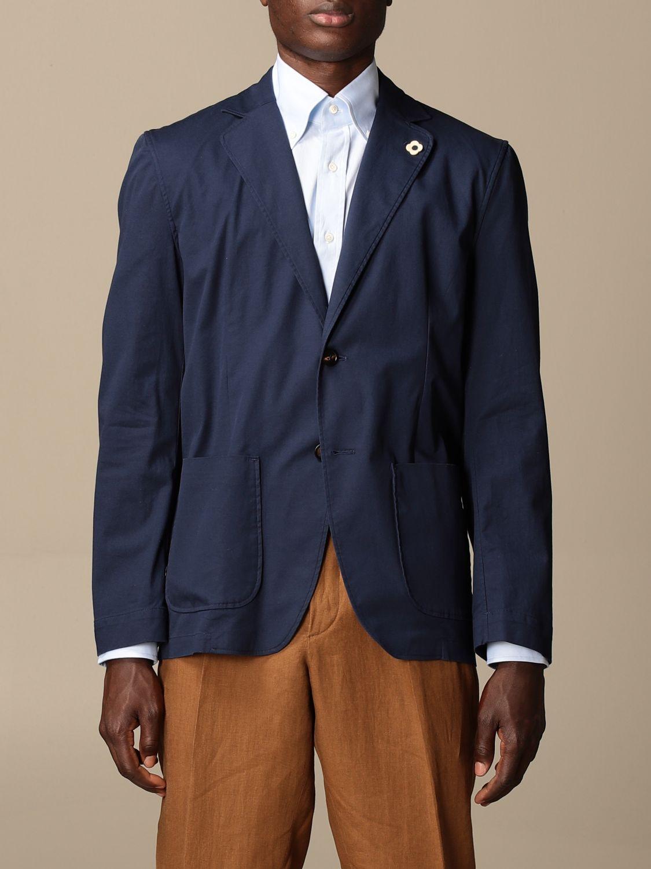 Блейзер Lardini: Куртка Мужское Lardini темно-синий 1
