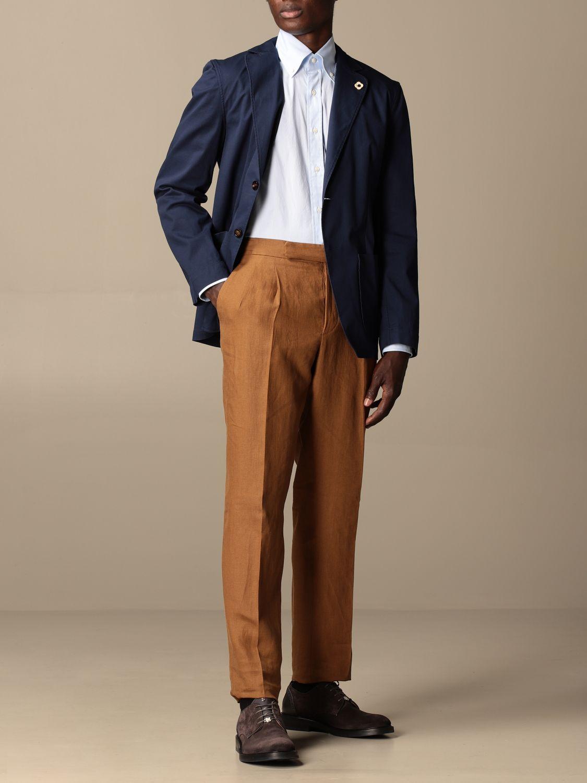 Блейзер Lardini: Куртка Мужское Lardini темно-синий 2