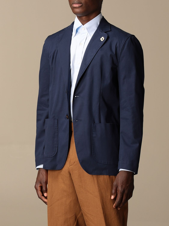 Блейзер Lardini: Куртка Мужское Lardini темно-синий 4