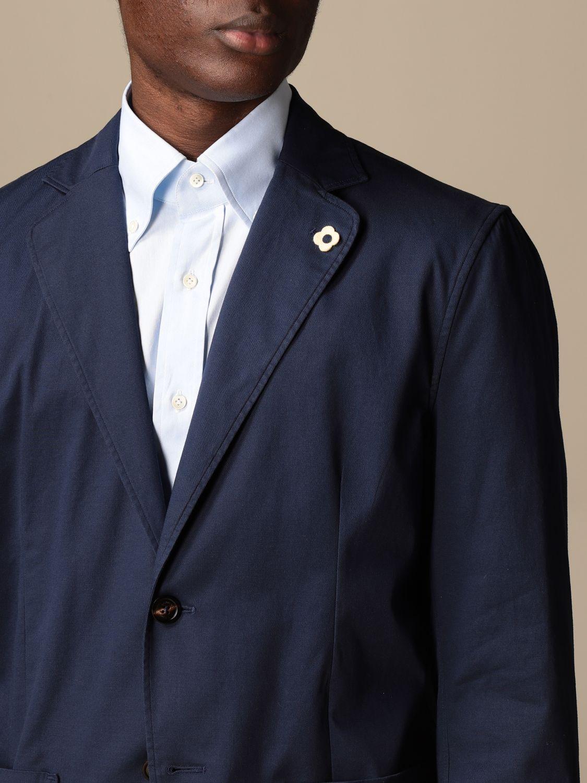 Блейзер Lardini: Куртка Мужское Lardini темно-синий 5